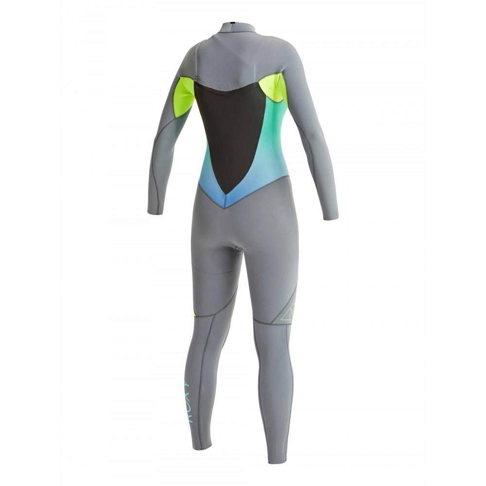 Womens 3/2mm Syncro GBS Chest Zip Steamer Wetsuit ARJW103021Roxy