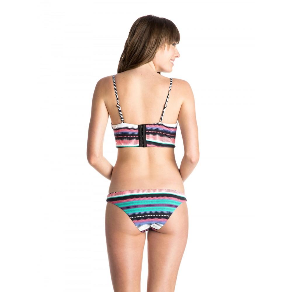 Womens Underwire Bandeau Reversible Swimsuit ARJX203139 Roxy