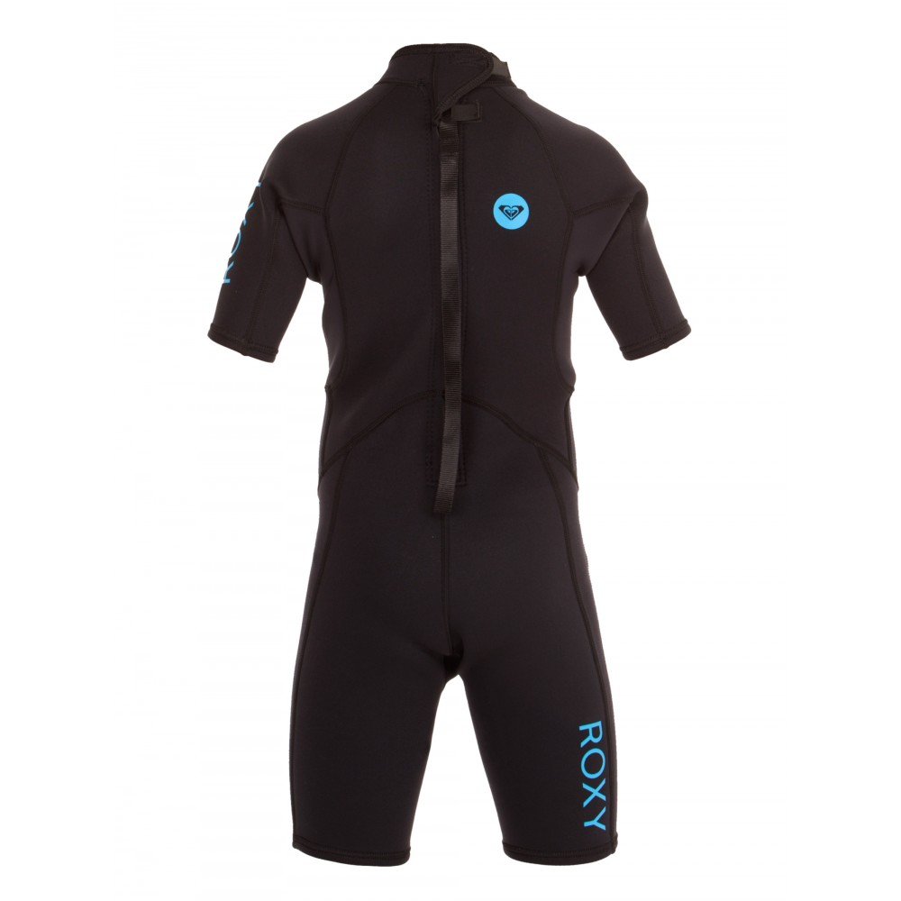 Girls 2-14 Syncro Base 2/2mm Short Sleeve Spring Suit Wetsuit ERGW503000 Roxy