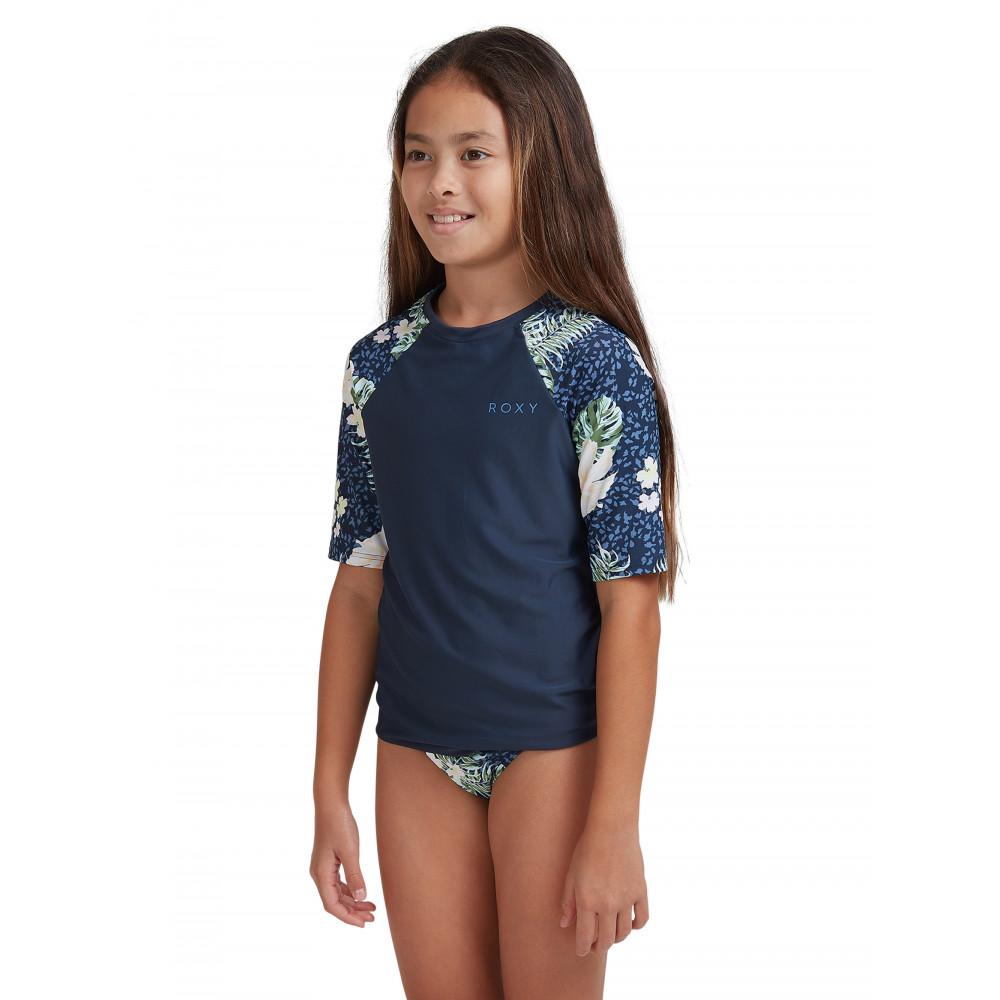 Girls 8-16 ROXY Short Sleeve RashguardERGWR03234 Roxy