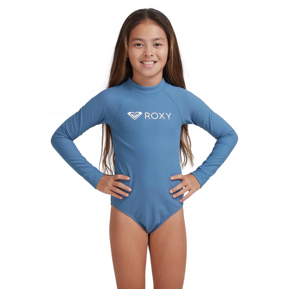 Girls 8-14 Girl Heater Long Sleeve UPF 50 One-Piece Rashguard ERGWR03240 Roxy