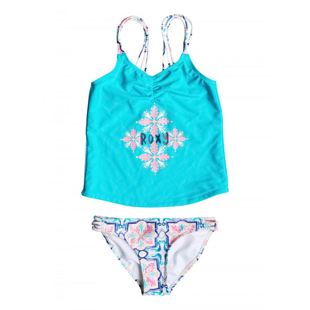 Girls 8-14 Molokai Floral Tankini Set ERGX203046 Roxy
