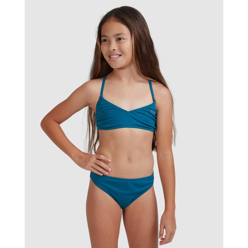 Girls 8-14 Summer Of Surf Athletic Bikini Set ERGX203317 Roxy