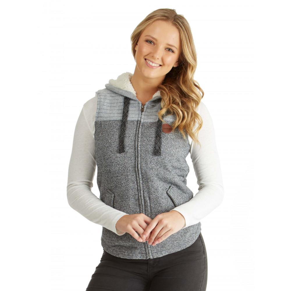 Womens Fairwater Fleece Zipped Vest ERJFT03484 ROXY
