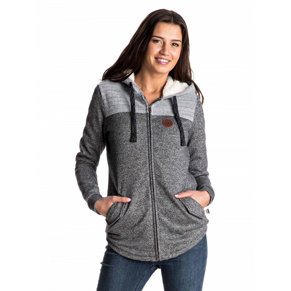 Womens Fairwater Fleece Zipped Hoodie ERJFT03486 Roxy