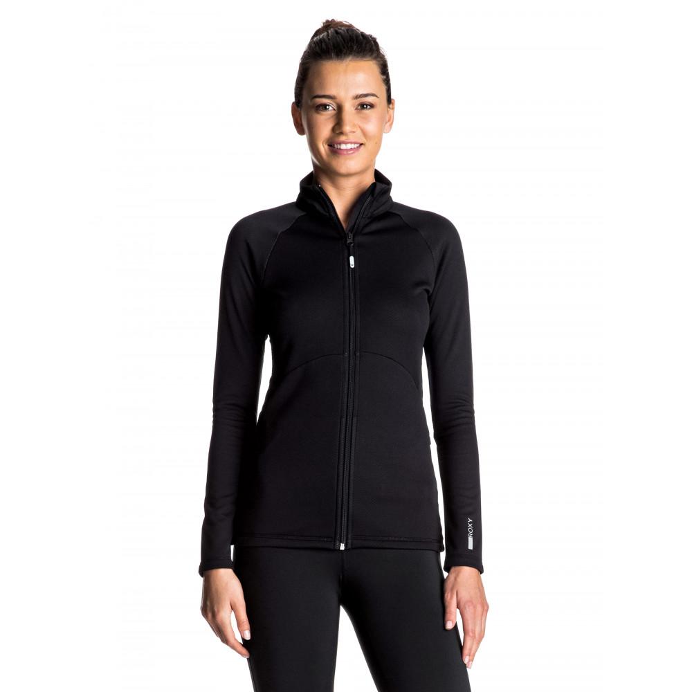 Womens Dailly Run Zip Fleece ERJFT03491 Roxy