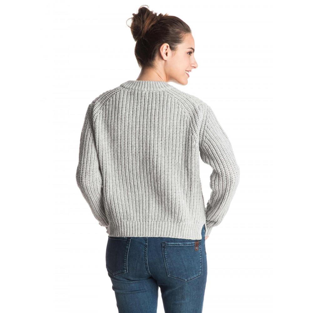 Womens Bright Whites Knit Jumper ERJSW03150 Roxy