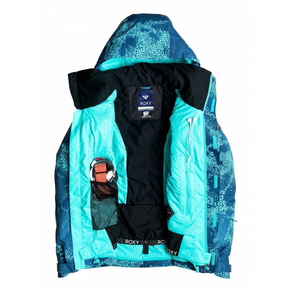 Womens Wilder Printed 2L Gore-Tex Snow Jacket ERJTJ03071 Roxy