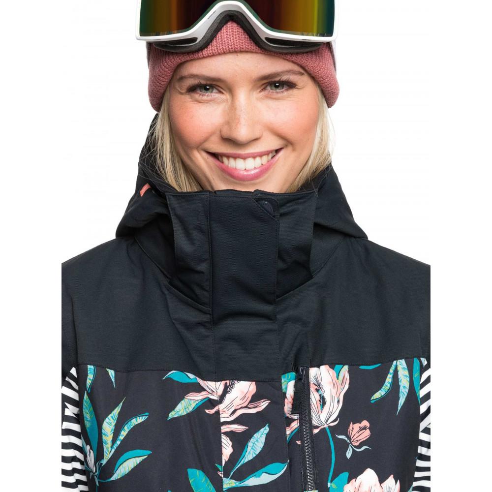 Womens ROXY Jetty Block Snow Jacket ERJTJ03279 Roxy