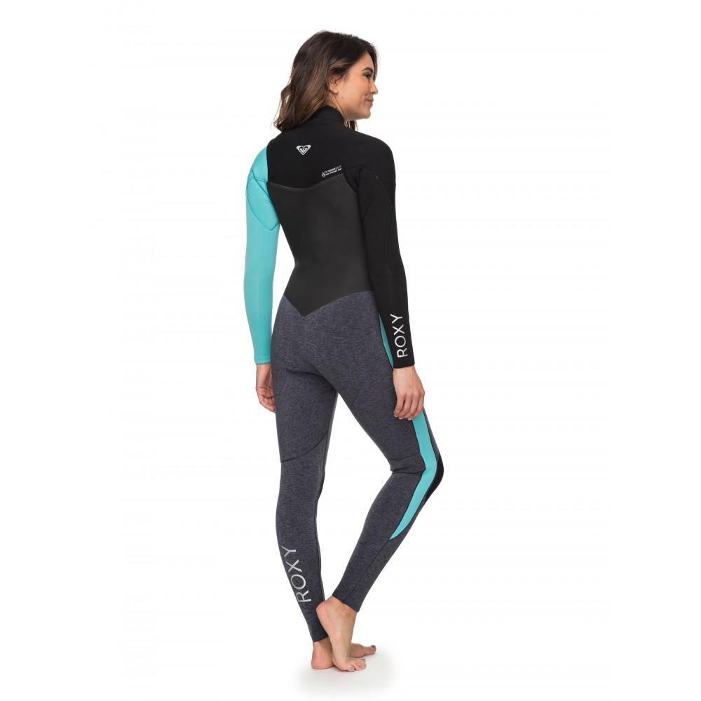 165f9aa66b Womens 3 2mm Performance Chest Zip Steamer Wetsuit ERJW103032 - Roxy