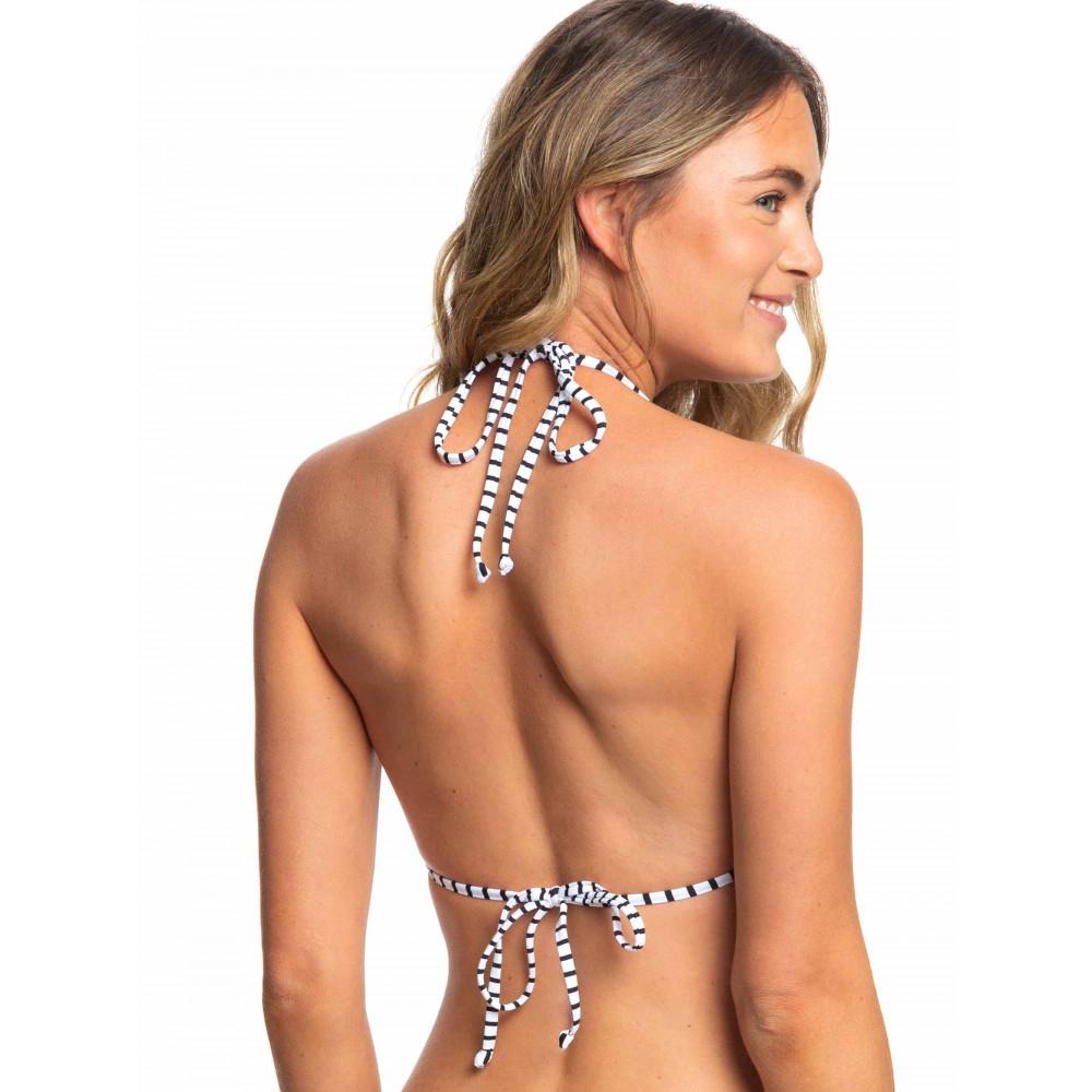 Womens Printed Beach Classics Tiki Tri Separate Bikini Top ERJX303963 Quiksilver