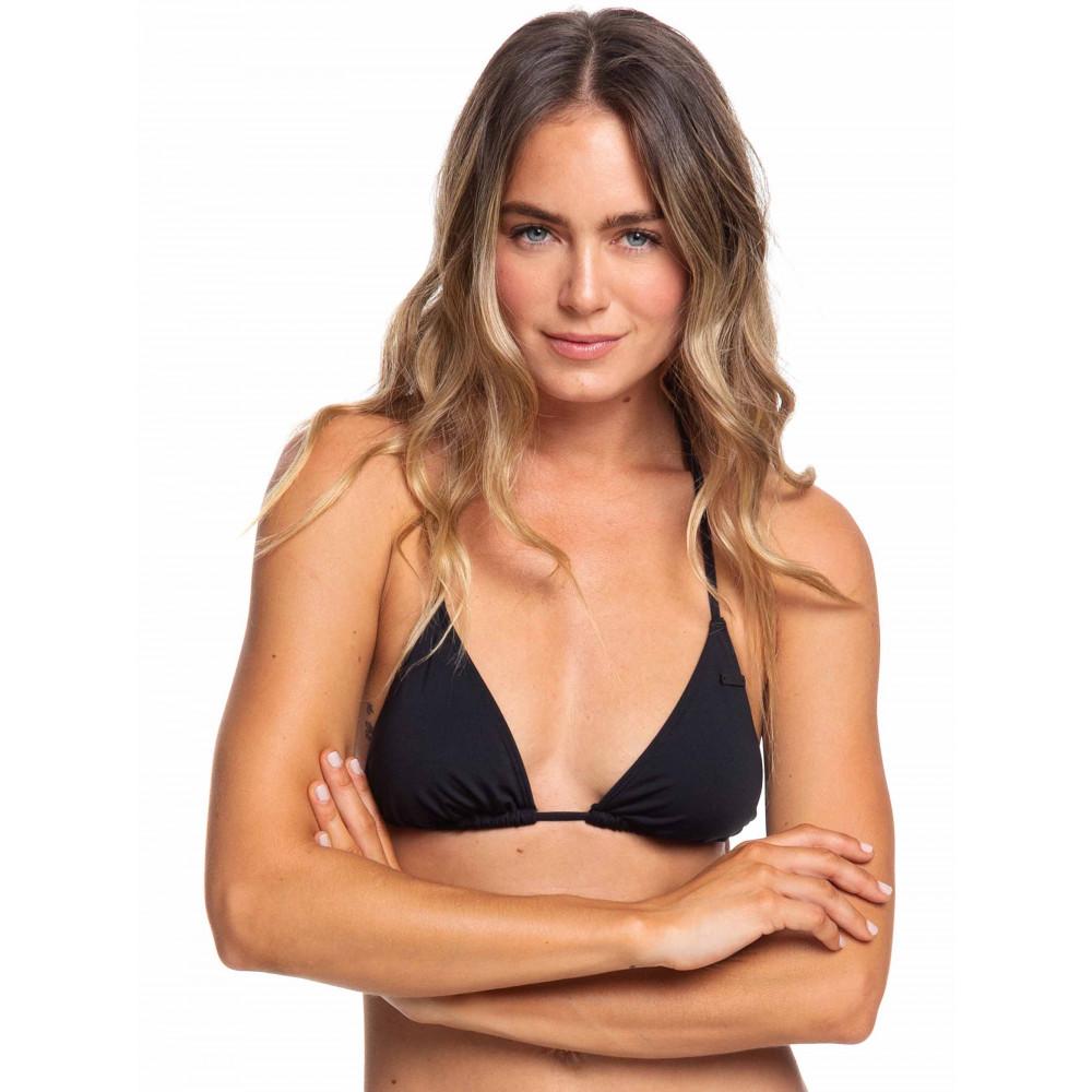 Womens Beach Classics Tiki Tri Separate Bikini Top ERJX304060 Roxy