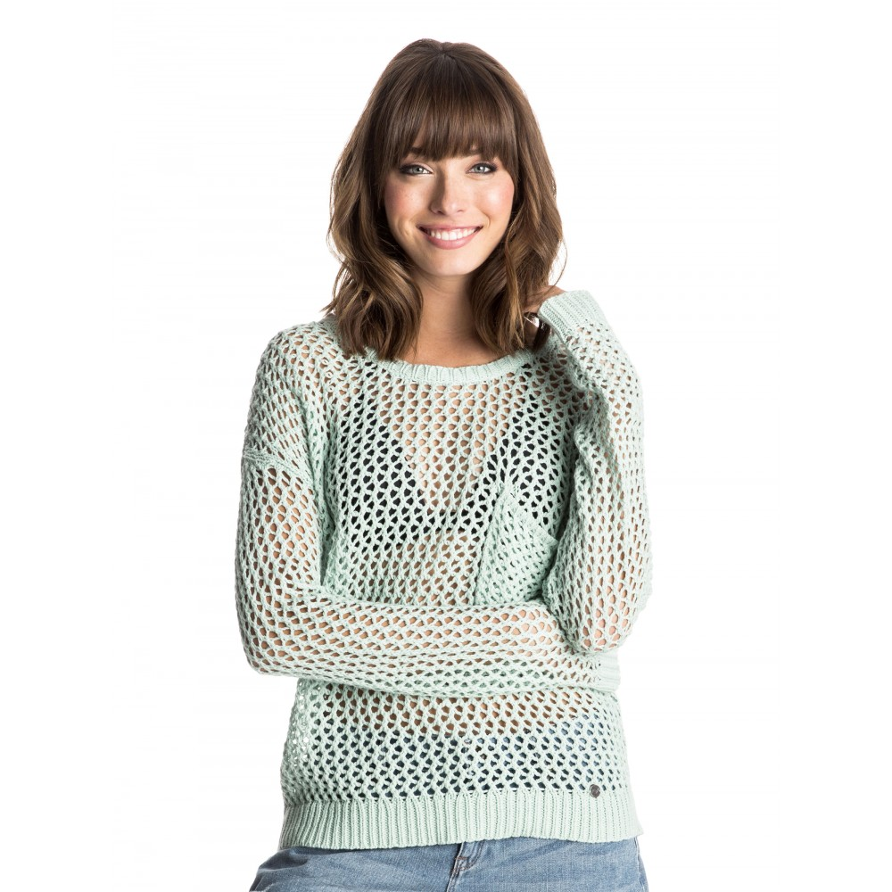 Womens Turnabout Knit Jumper ERJSW03087 Roxy