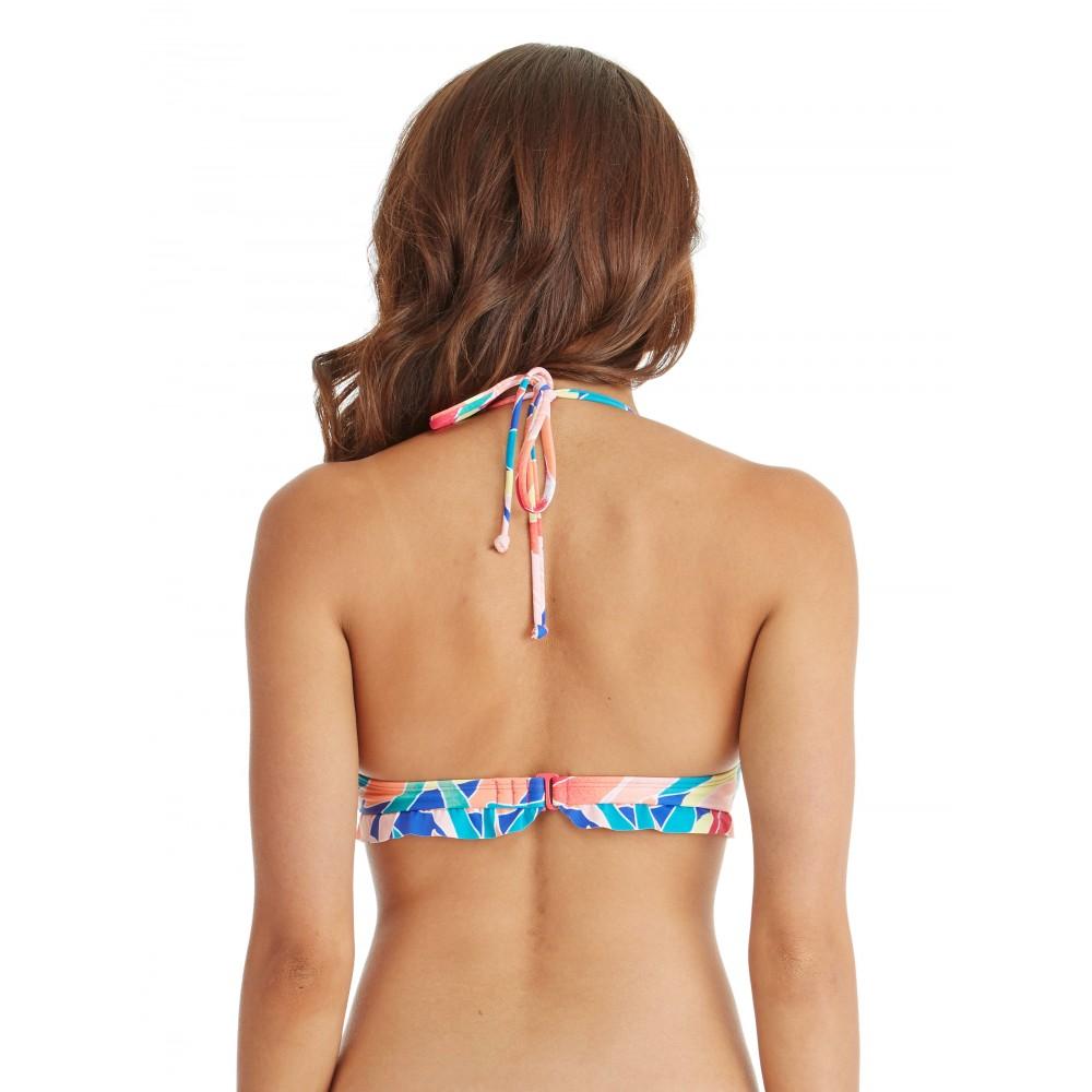 Womens Tropical Monsoon Halter Separate Bikini Top ERJX303040 Roxy