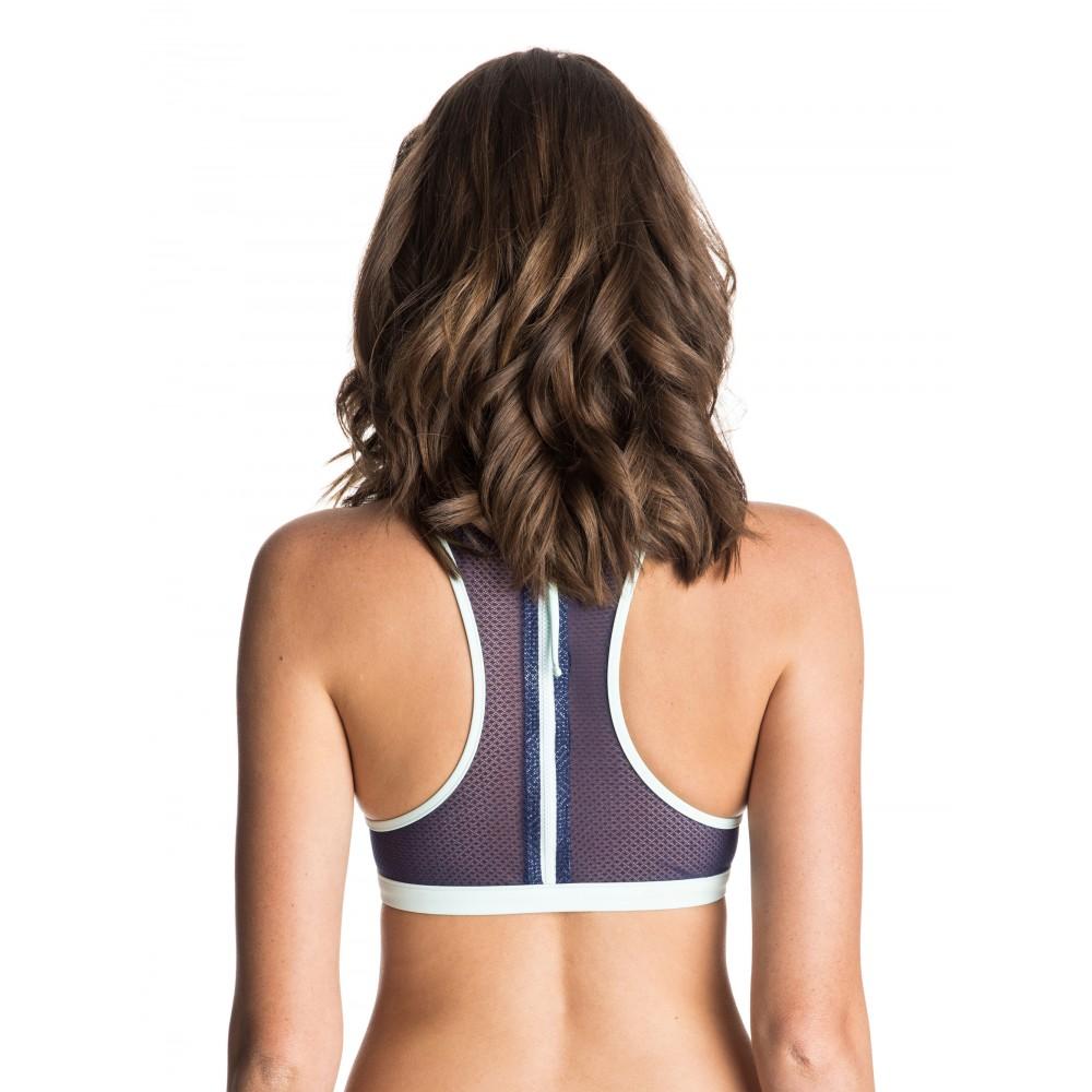 Womens Caribbean Sunset Halter Bikini Top ERJX303105 Roxy