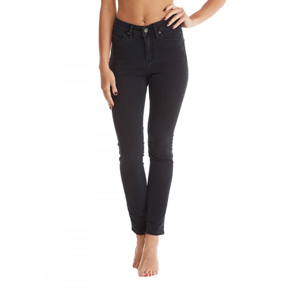 Womens Suntripper HW Black Jeans URJDP03002 Roxy