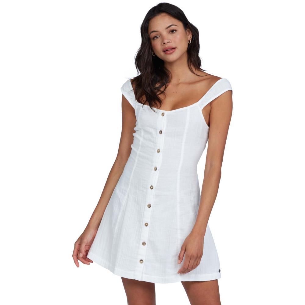 Womens Think Again Cotton Swing Mini Dress