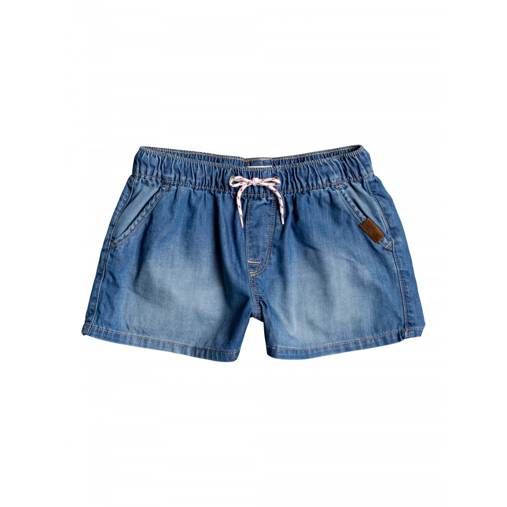 Girls 4-14 Honey Sunday Elasticated Denim Short