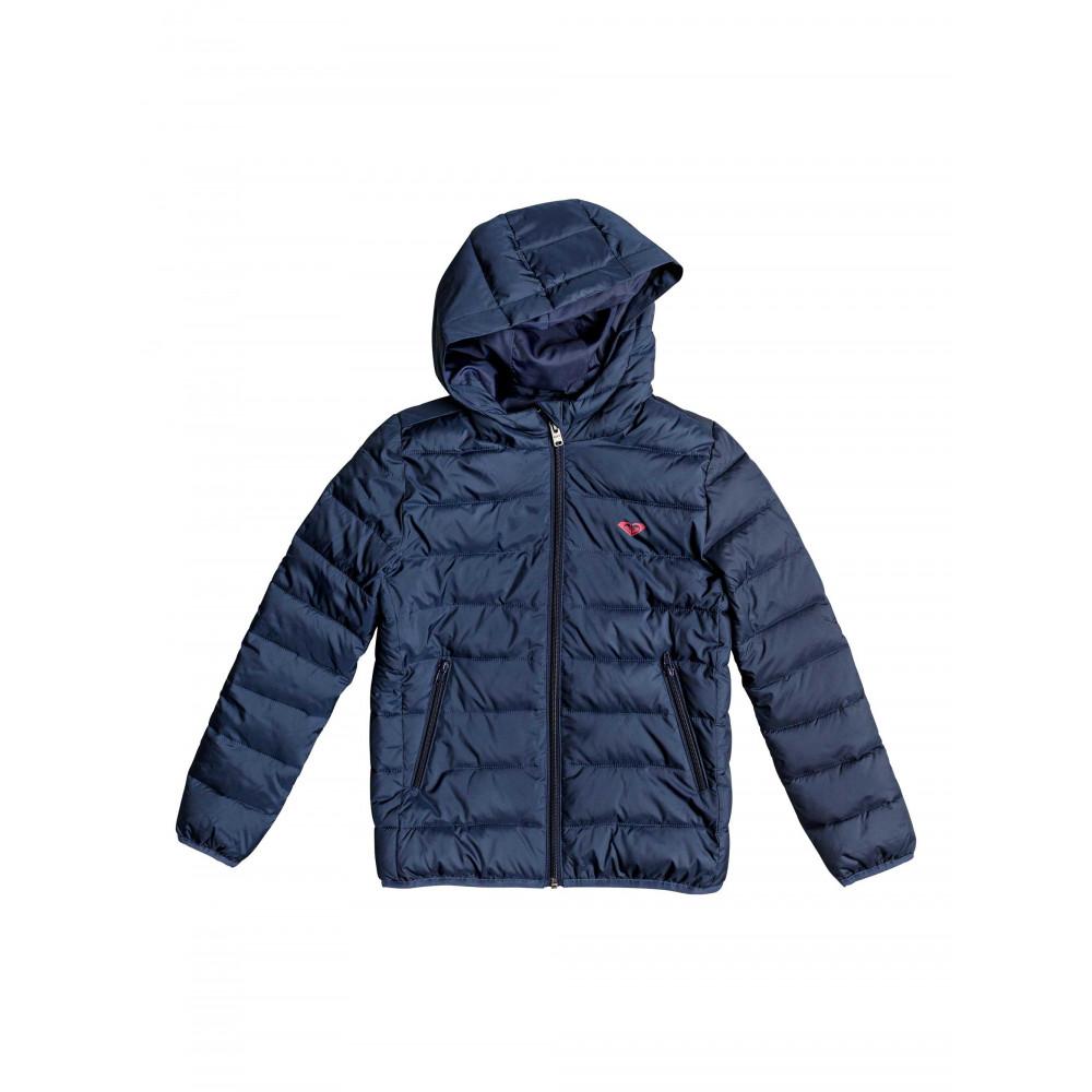 Girls 8-14 Question Reason Hooded Puffer Jacket