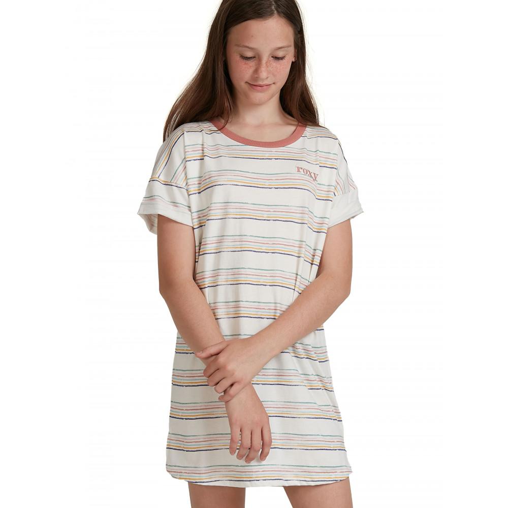 Girls 8-14 Open Fire Short Sleeve T Shirt Dress