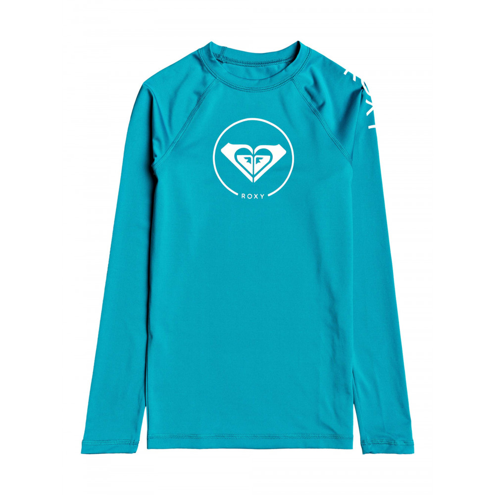 Girls 8-14 Beach Classics Long Sleeve UPF 50 Rash Vest