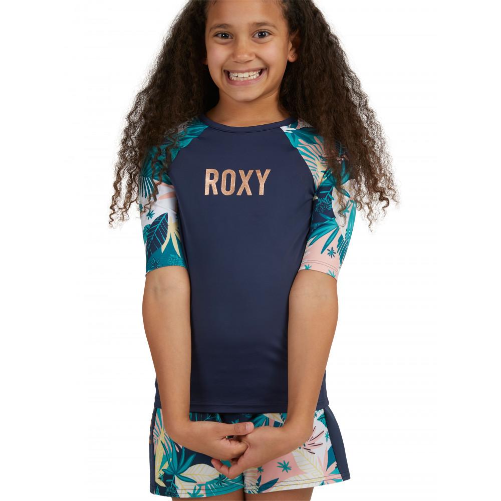 Girls 8-14 Girl Go Further Short Sleeve Rash Vest