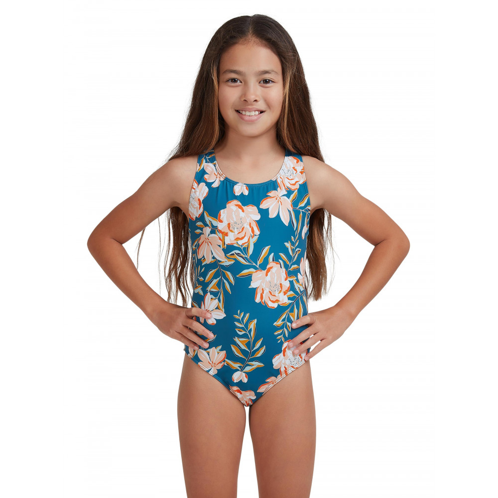 Girls 8-14 Summer Of Surf One Piece Swimsuit