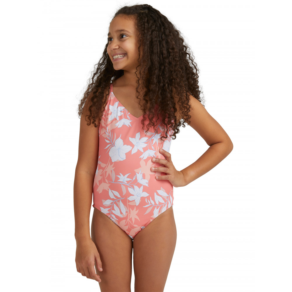 Girls 8-14 Bloom Paradise One Piece Swimsuit