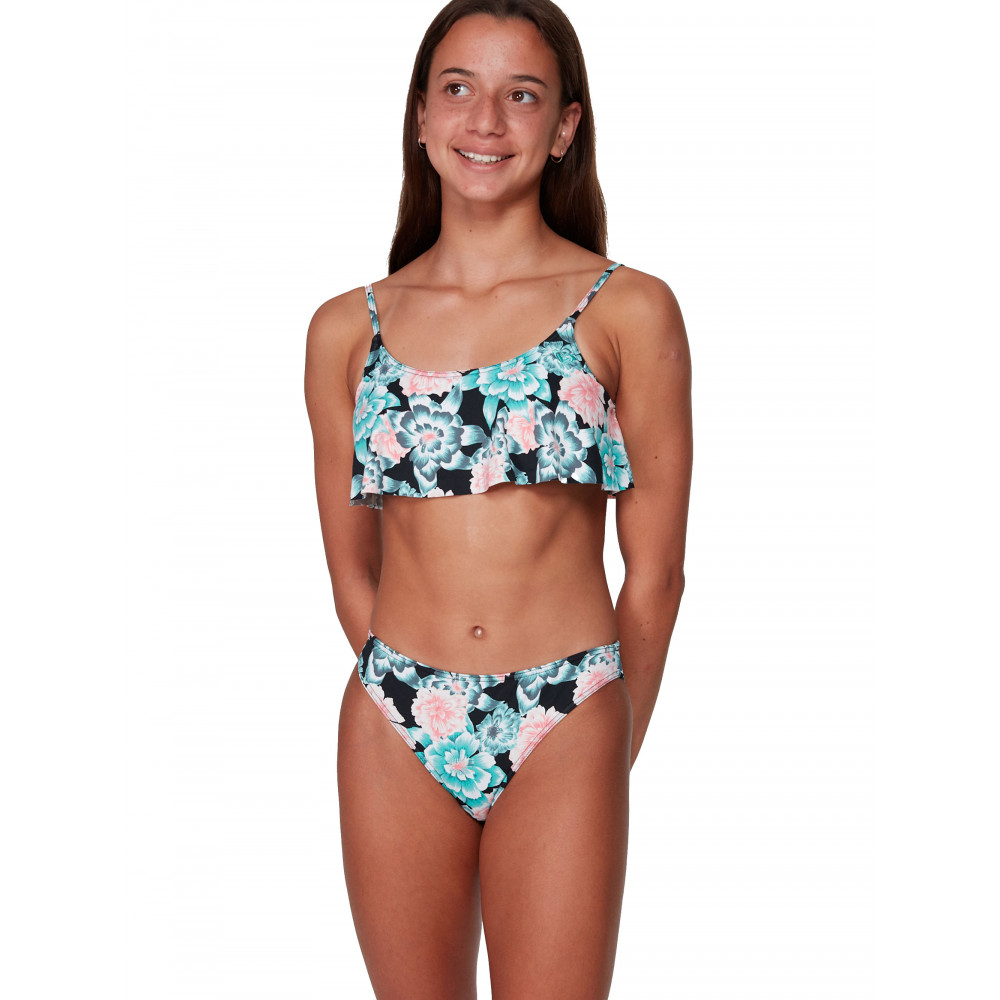 Girls 8-14 Surf My Mind Flutter Bikini Set