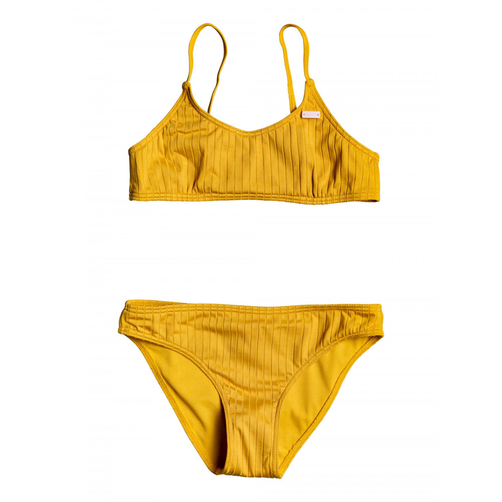 Girls 8-14 Jungle Shade Bralette Bikini Set