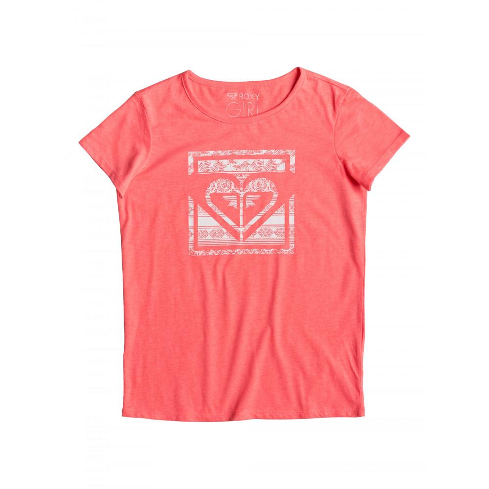 Girls 8-14 Galaxy Light Tropical Wax Heart T Shirt