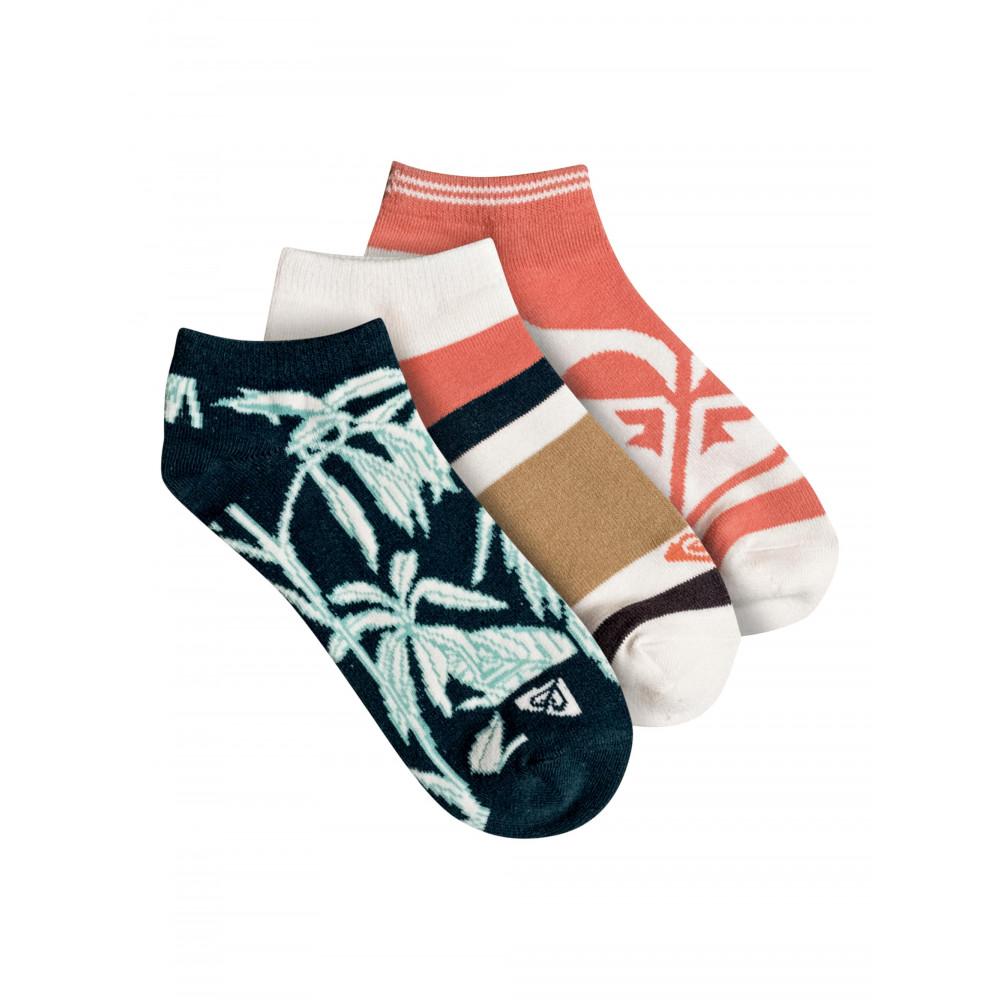 Womens 3 Pack Ankle Socks