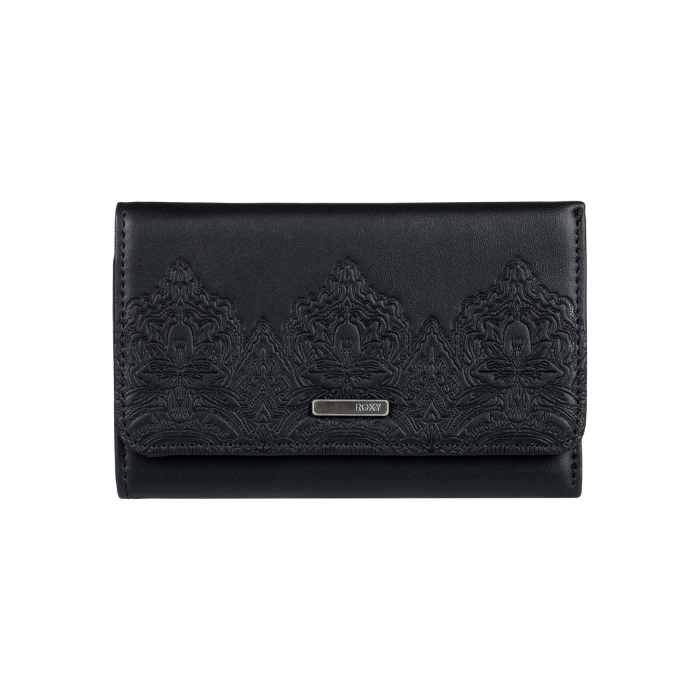 Womens Juno Embossed Bi-Fold Wallet