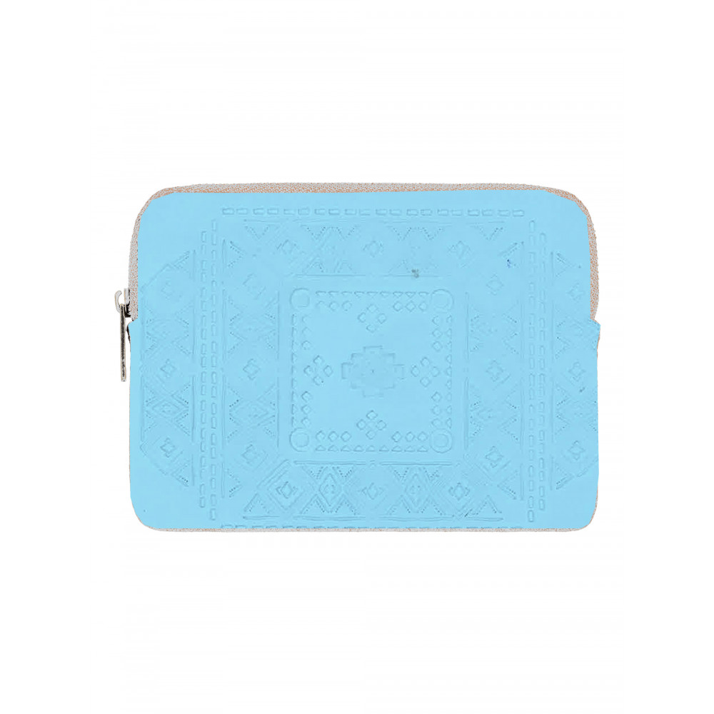 Womens Really Happy Again Embossed Zip Wallet