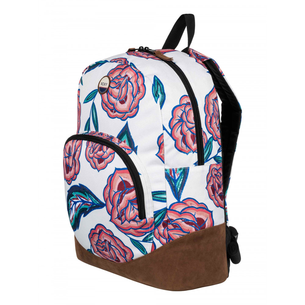 Fairness Printed Faux Suede Backpack