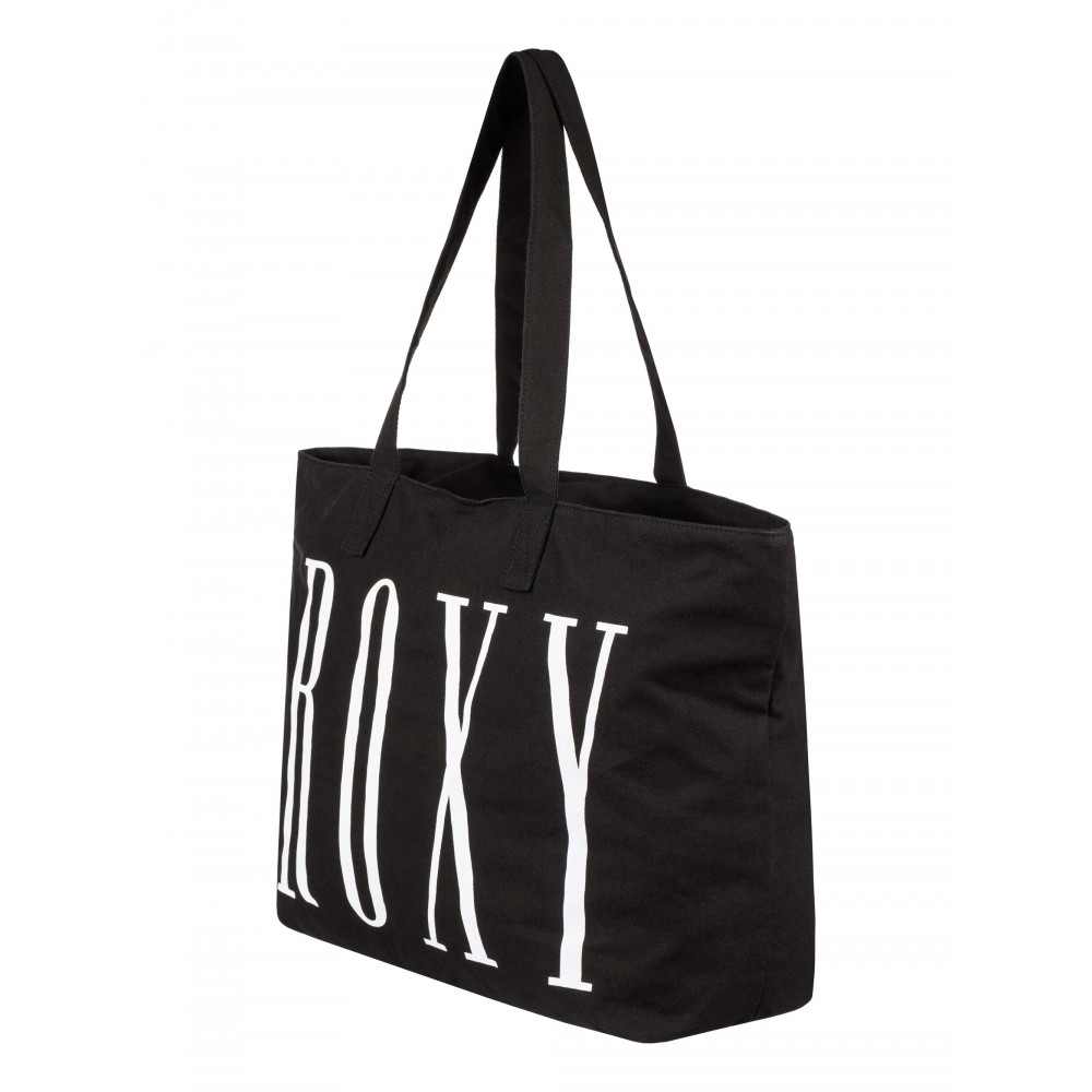Sunny Afternoon Printed Logo Large Tote Bag