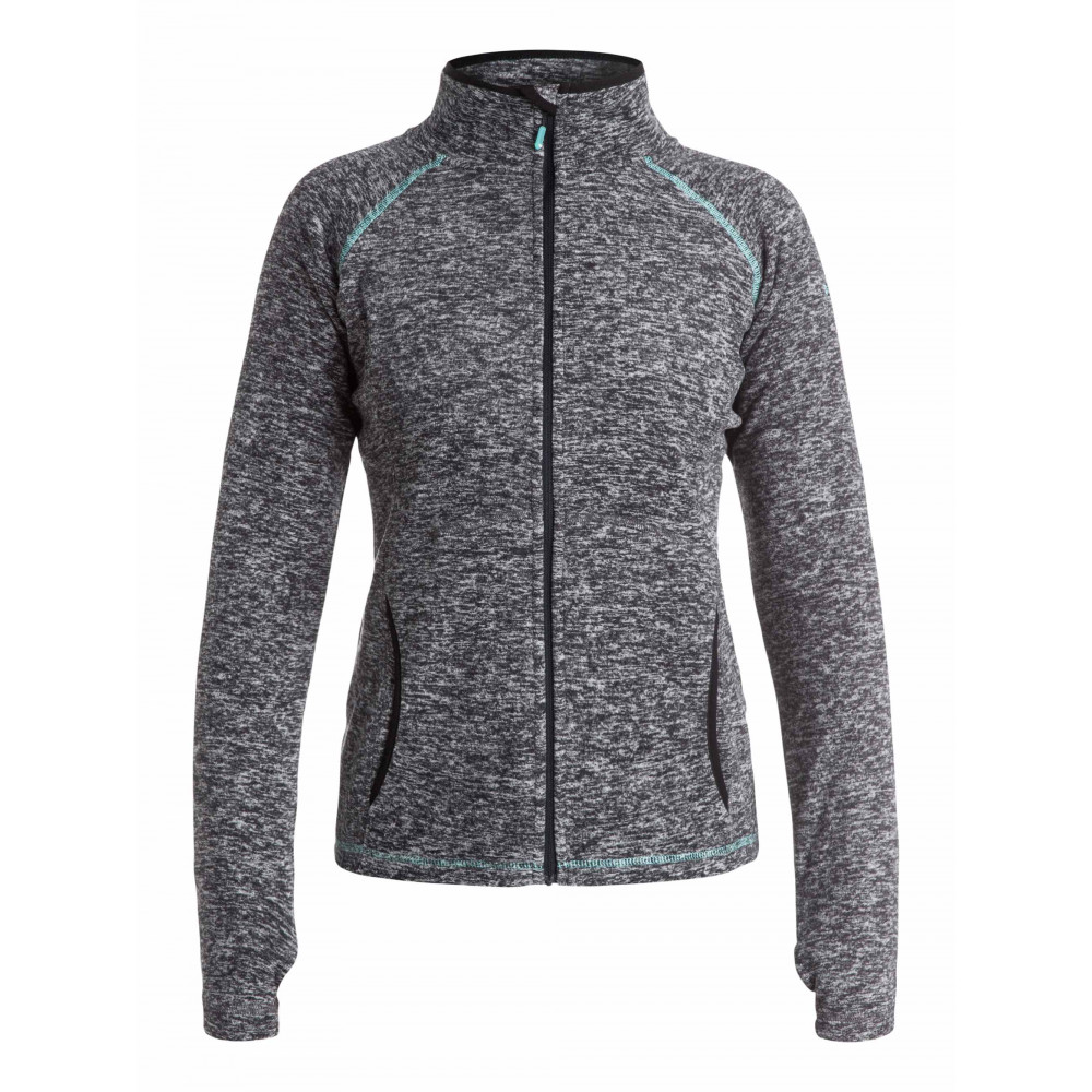Womens Harmony Technical Snow Zipped Fleece Jumper