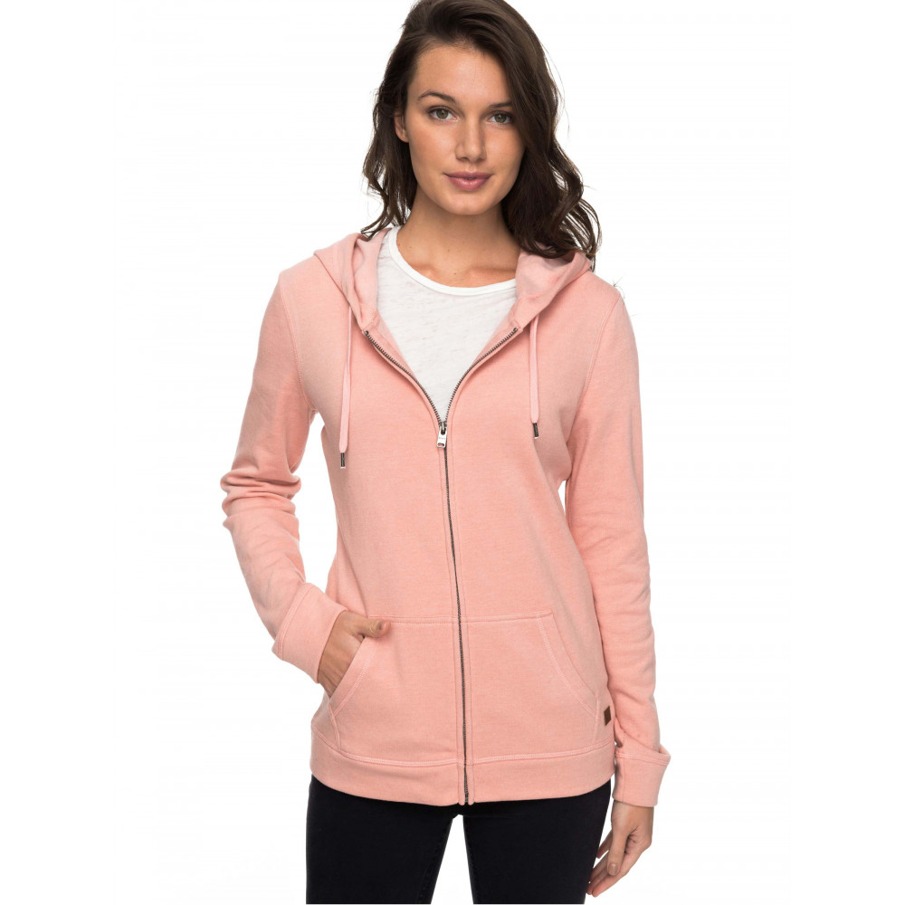 Womens Just Simple Fleece Hoodie