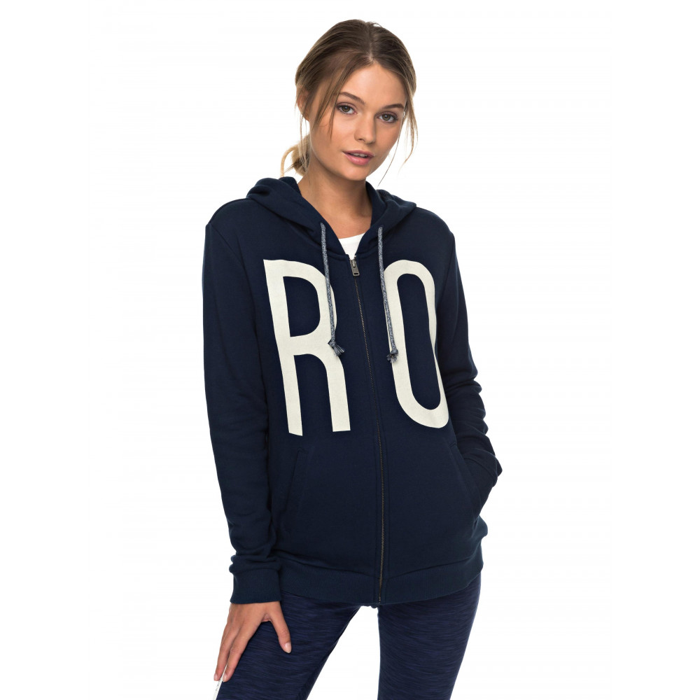 Womens More Summer Zip-Up Hoodie