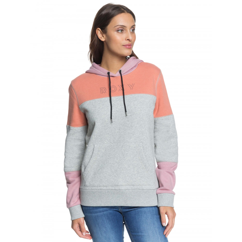 Womens Toes To The Nose Colourblock Hoodie