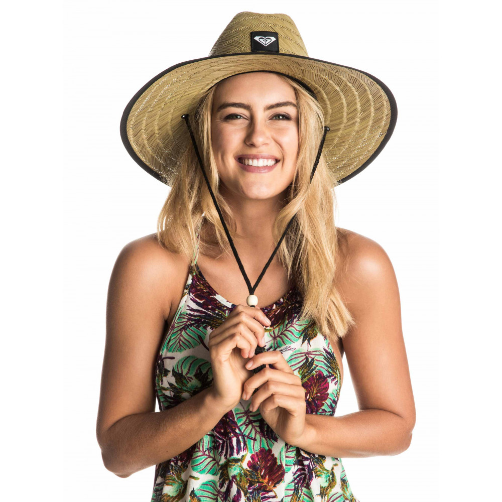 Womens Tomboy Straw Sun Hat