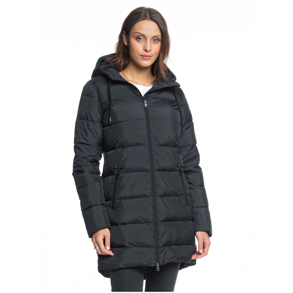 Womens Southern Nights Longline Puffer Jacket