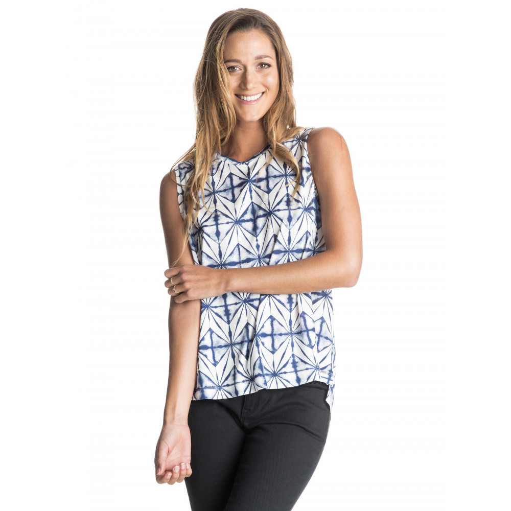 Womens Time Of The Season Printed Top
