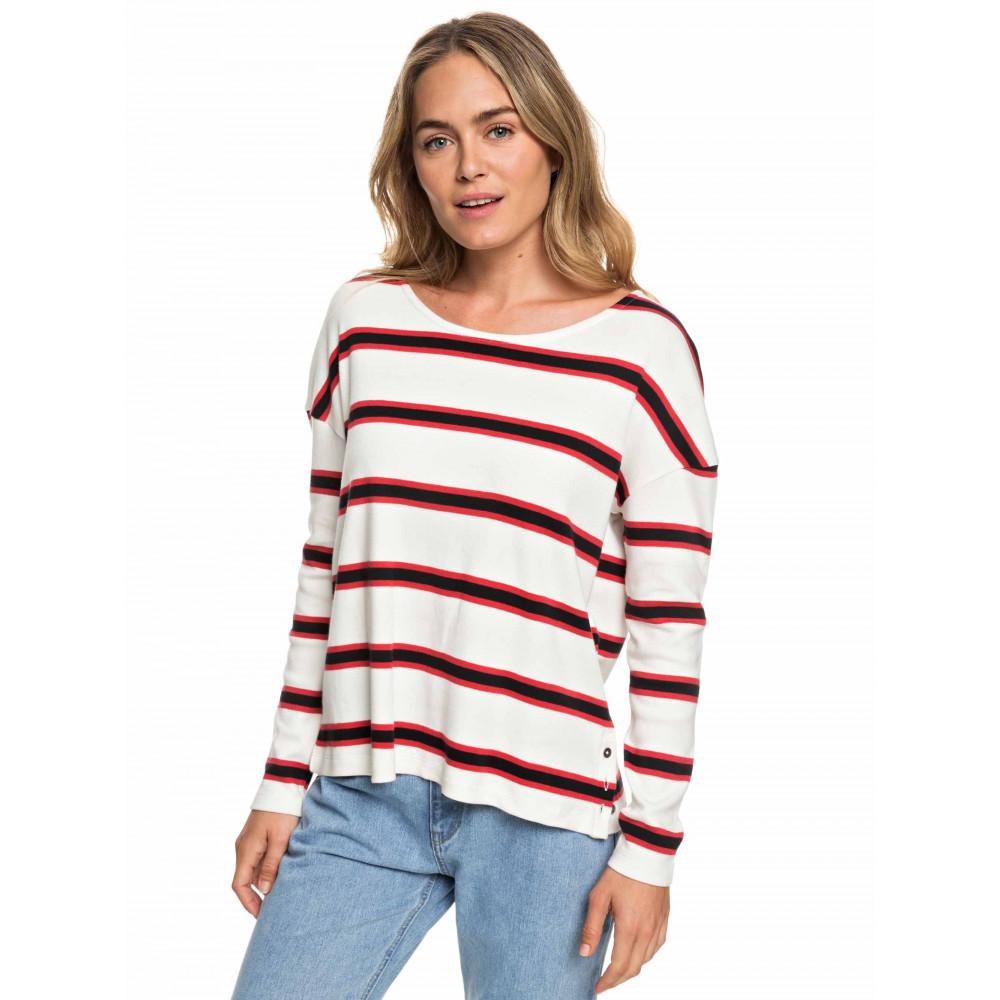Womens Dress Like A Boy Striped Long Sleeve T Shirt