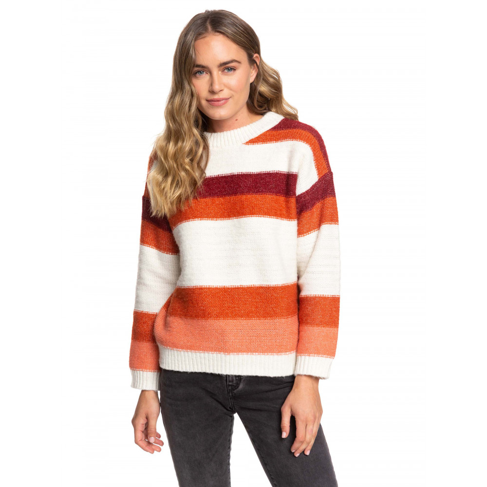 Womens Trip For Two Stripe Jumper