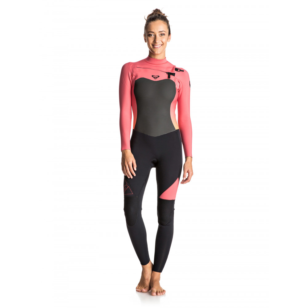 Womens Syncro 3/2mm GBS Chest Zip Steamer Wetsuit