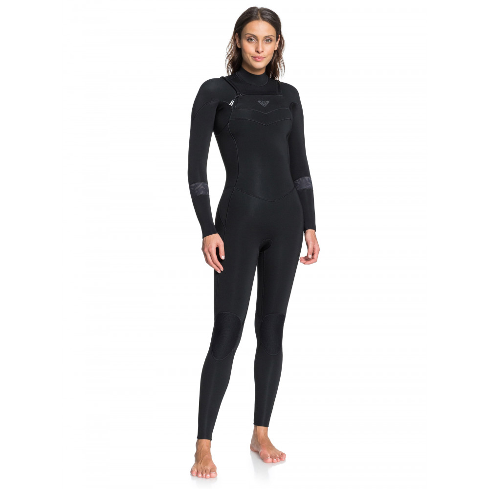 Womens 4/3mm Syncro GBS Chest Zip Steamer Wetsuit