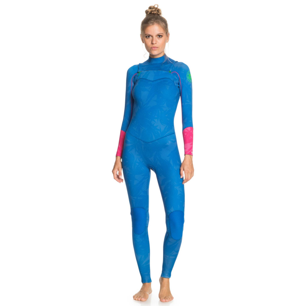 Womens 3/2mm POP Surf Chest Zip Wetsuit