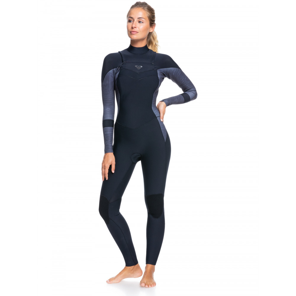 Womens 3/2mm Syncro Chest Zip Steamer Wetsuit