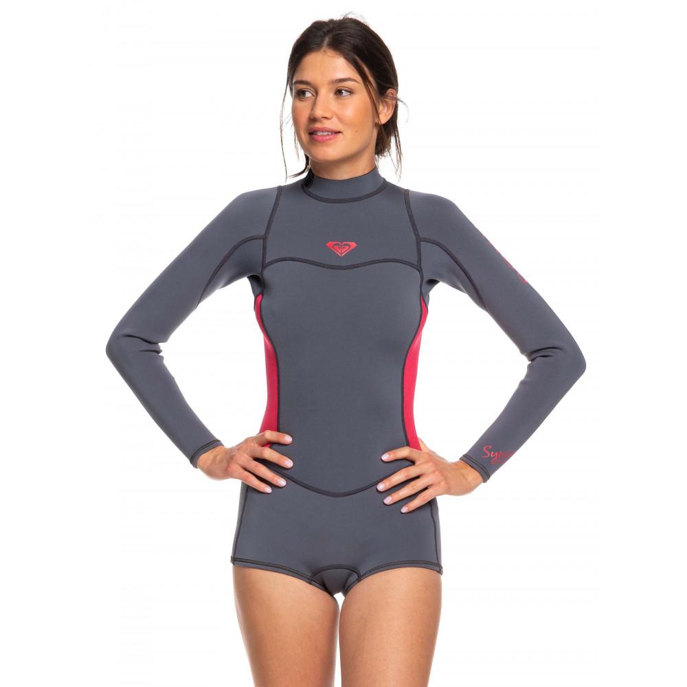 Womens 2/2mm Syncro LS Back Zip FLT Springsuit Wetsuit